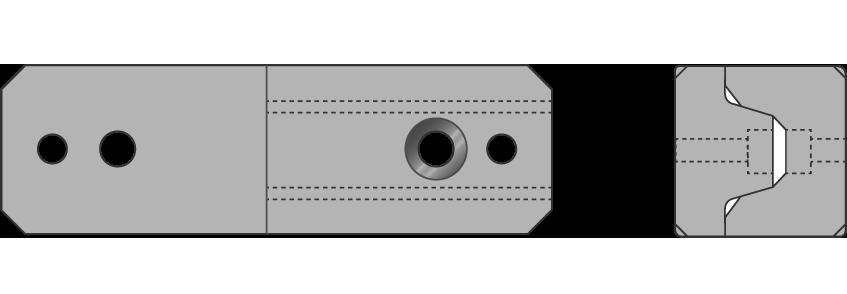 Coni di centratura paralleli