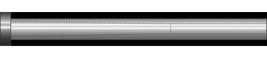 Cannocchiali nitrurati scarico conico
