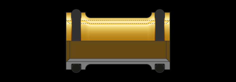 Deviatori di flusso doppio passaggio