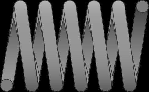 Molle filo tondo carico extra leggero