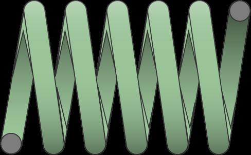 Molle filo tondo carico leggero