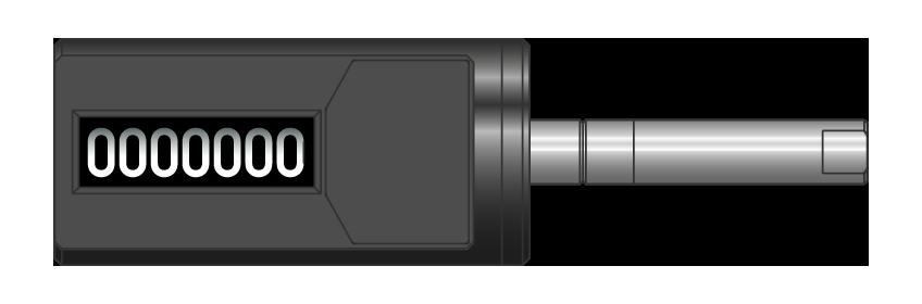 Contacicli cilindrico destro