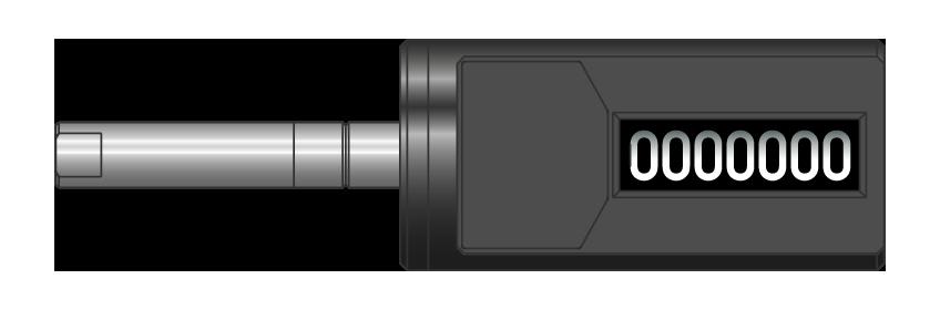 Contacicli cilindrico sinistro