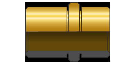 Bussole spallate tipo PR Bronzo